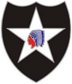 2nd Infantry Division Combat Service ID Badges